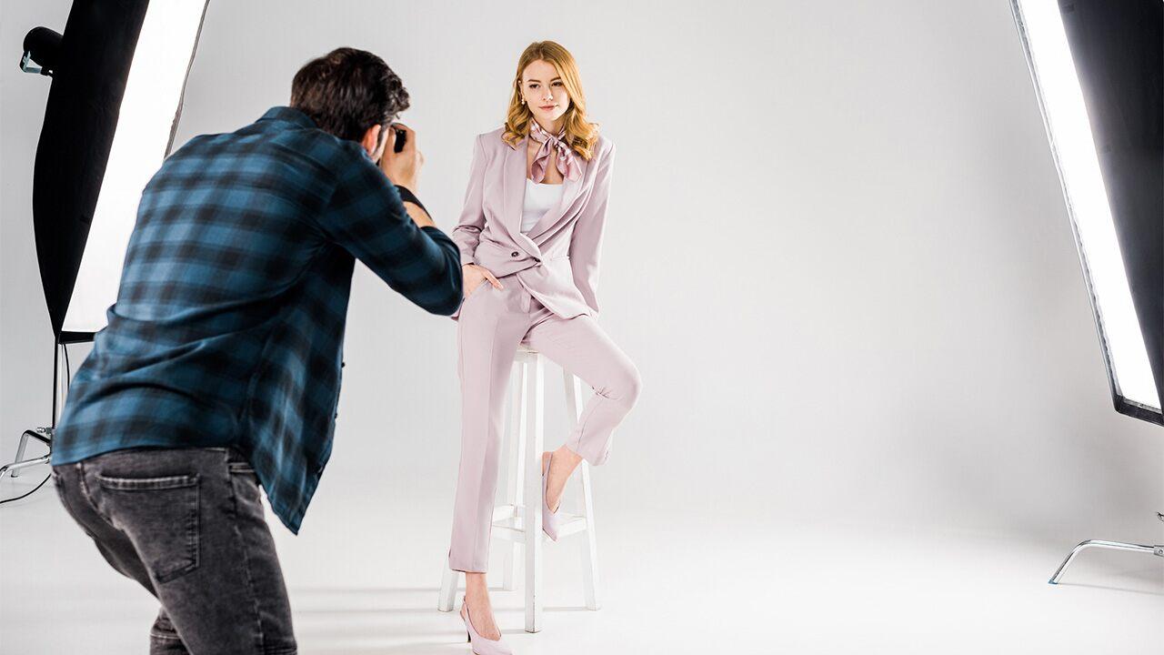 Model Anziehen